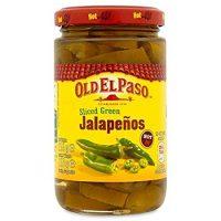 Old El Paso Sliced Green Jalapenos - 215g (0.47lbs)
