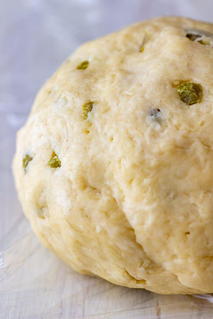 Mini Jalapeno Breadsticks Dough