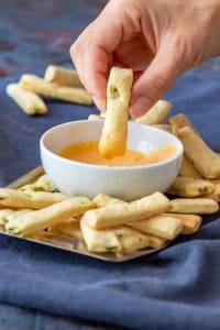 Mini Jalapeno Breadsticks