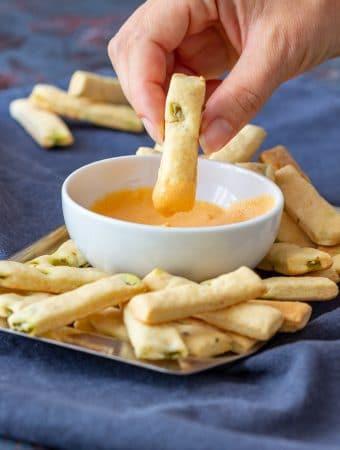 Mini Jalapeno Breadsticks