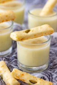 Potato Leek Soup Shooters