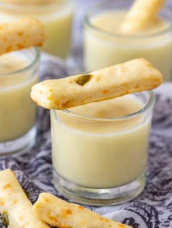 Potato Leek Soup Shooters