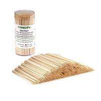 Premium Natural Bamboo Skewers for Appetizers (200 PCS)