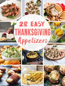 Easy Thanksgiving Appetizers Recipes