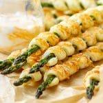 Parmesan Asparagus Pastry Twists Recipe