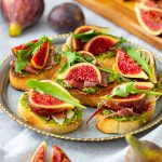 Prosciutto Fig Crostini Recipe