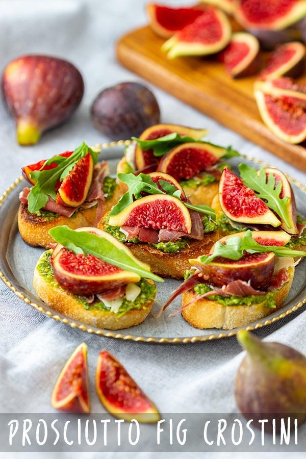 Prosciutto Fig Crostini Recipe
