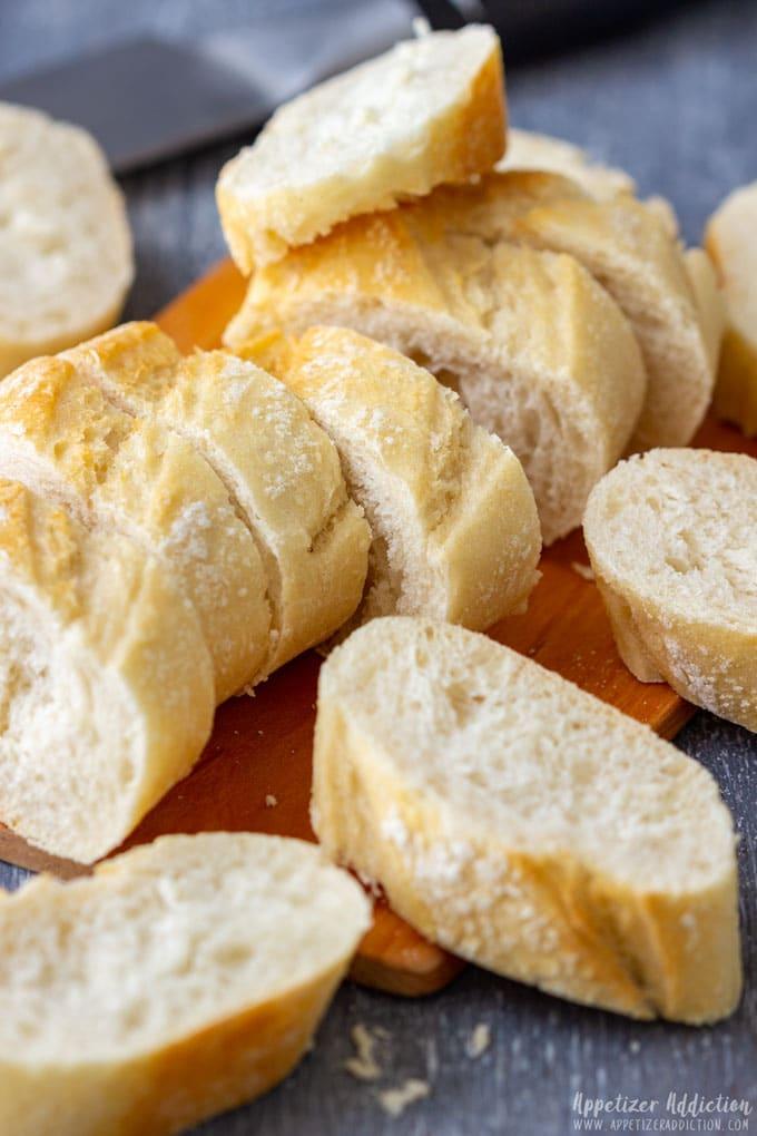 Sliced Bread for Making Crostini