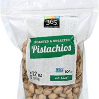 365 Everyday Value, Roasted & Unsalted Pistachios, 12 Ounce