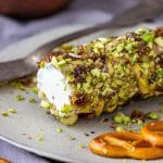 Honey Pistachio Goat Cheese Log