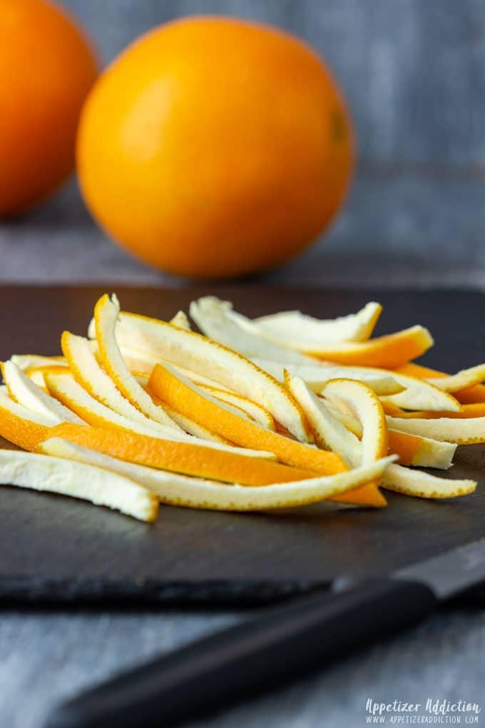 How to make Chocolate Covered Orange Peels Step 2