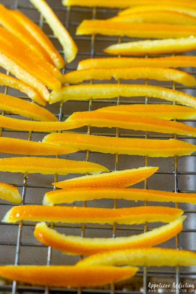 How to make Chocolate Covered Orange Peels Step 4