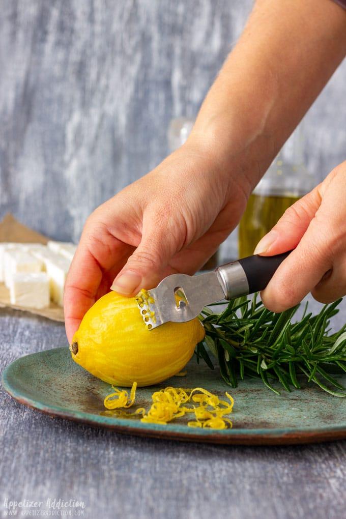 How to make Marinated Feta Cheese Step 2