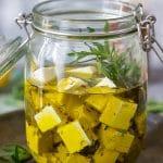 Rosemary Marinated Feta Cheese Recipe