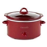 Crock-Pot SCV401-TR 4-Quart Manual Slow Cooker, Red