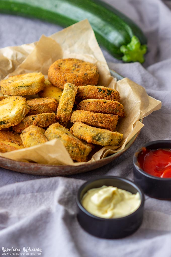 Fried Zucchini Bites Party Food