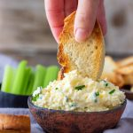 Garlic Cheddar Cheese Dip