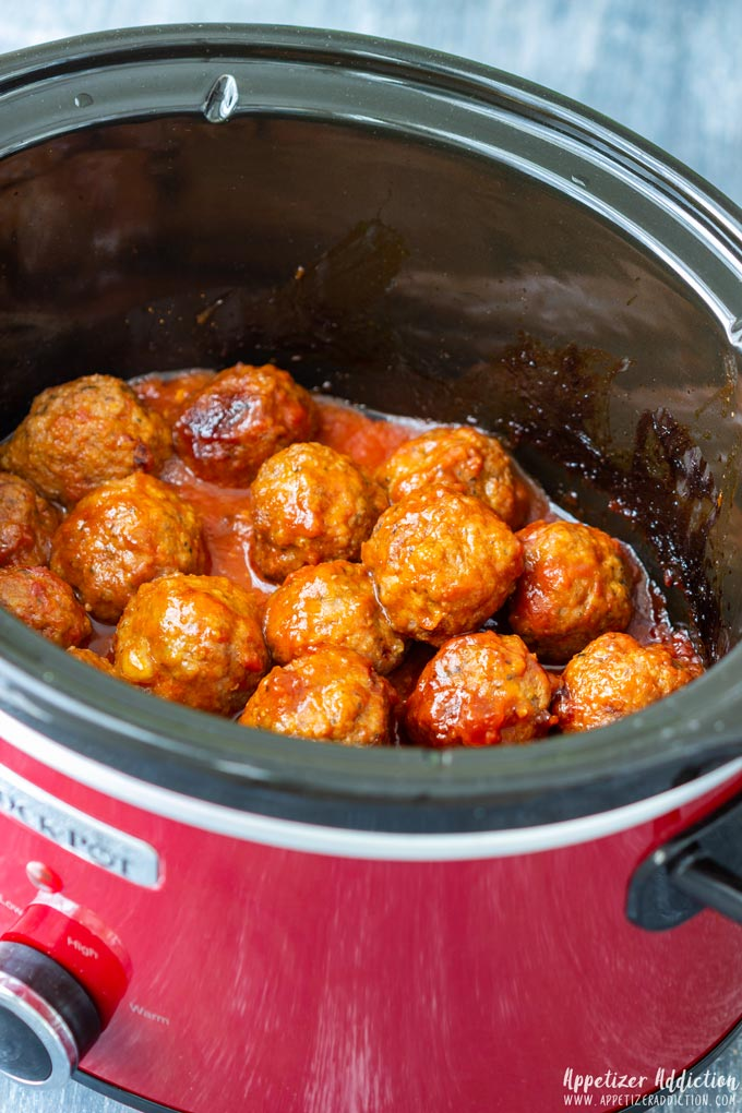 How to make Slow Cooker Sweet and Spicy Meatballs Step 6