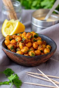 Pan Fried Chickpeas