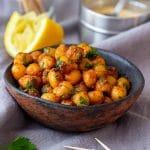 Pan Fried Chickpeas Recipe