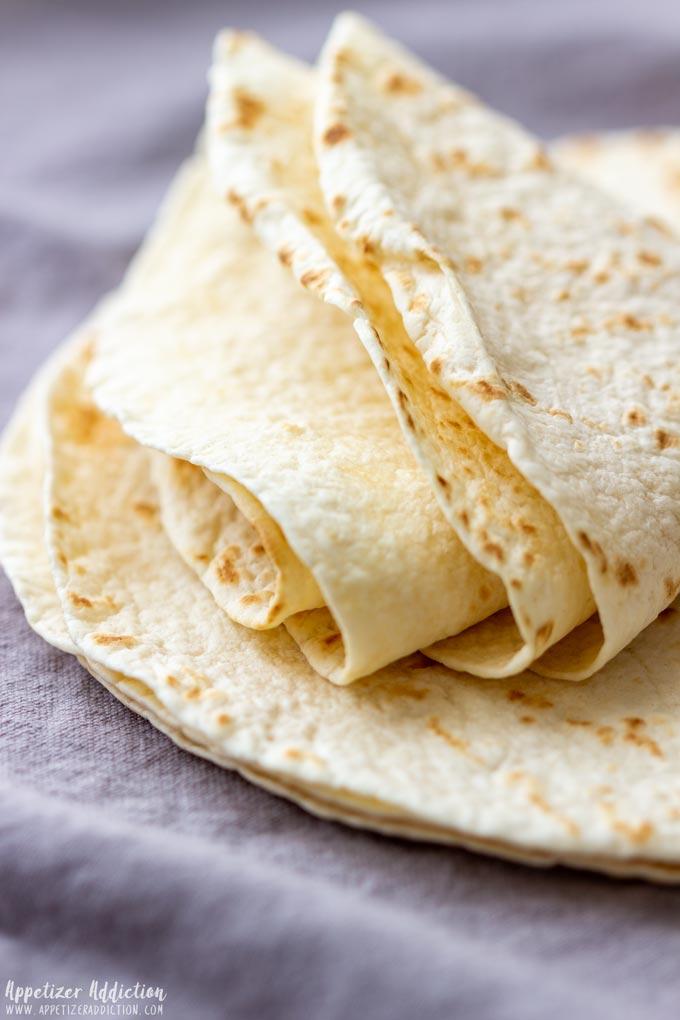 Tortillas to make Tortilla Chips