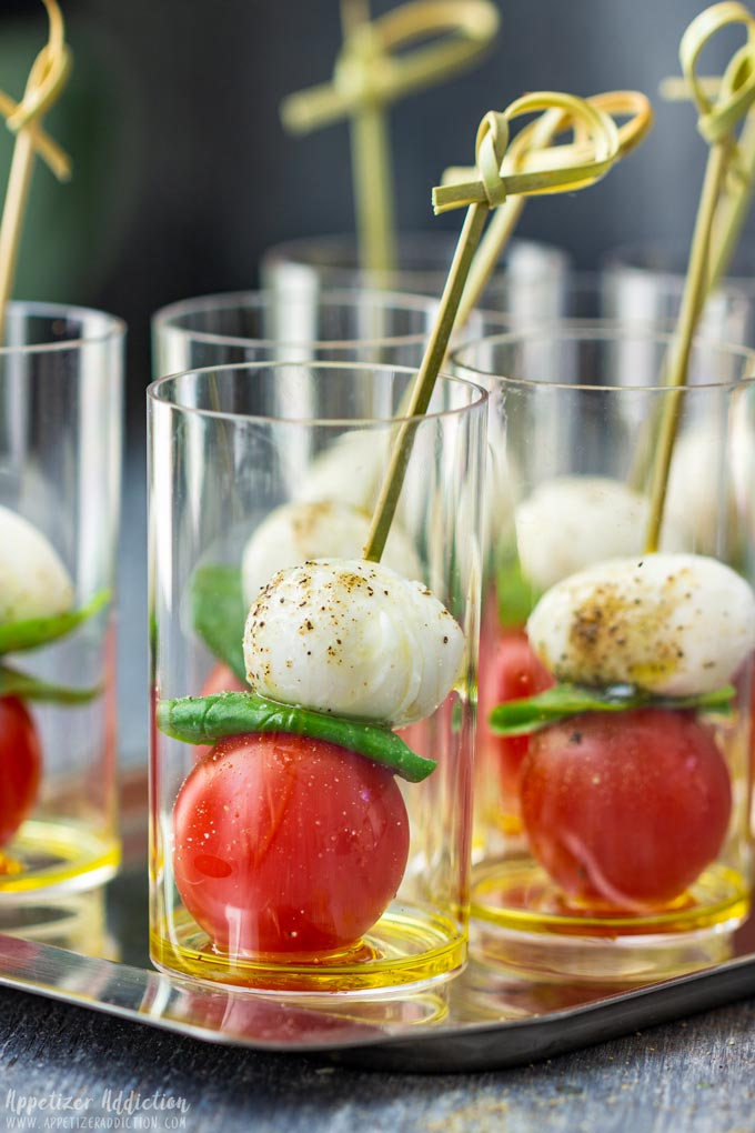 Caprese Salad Bites Party Food