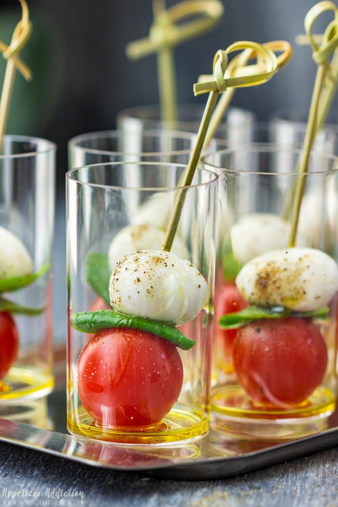 Caprese Salad Bites Party Food