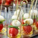 Easy Caprese Salad Bites Appetizer Recipe