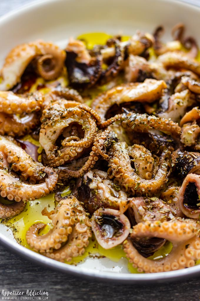 Step by Step How to Make Marinated Baby Octopus 4