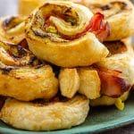 Puff Pastry Air Fryer Pinwheels Appetizers