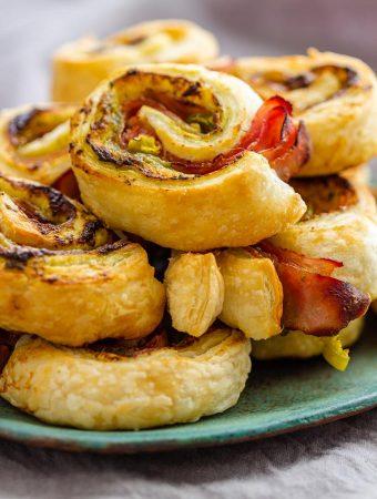 Puff Pastry Air Fryer Pinwheels