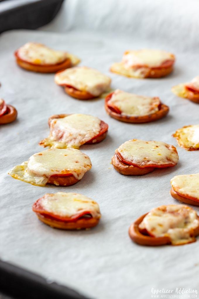 How to make Pretzel Pizza Bites Step 4