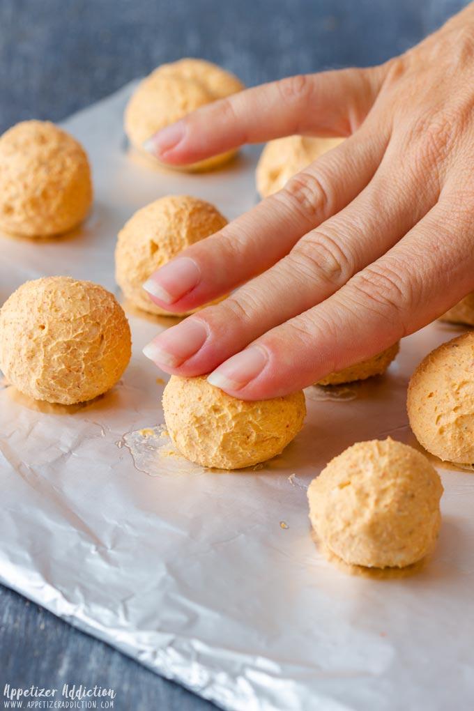 How to make Mini Pumpkin Cheese Balls Step 1