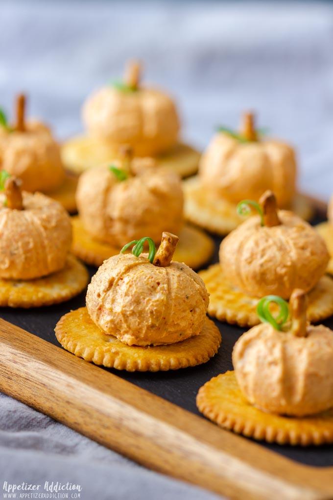 Pumpkin Cheese Balls Appetizers