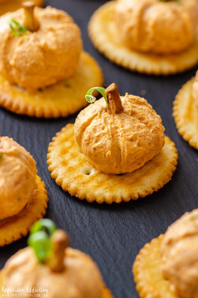 Bite Size Pumpkin Cheese Balls