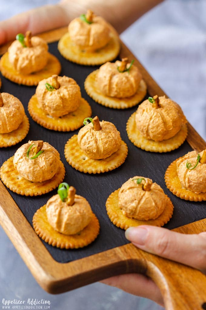 Mini Pumpkin Cheese Balls