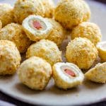 Easy Olive Stuffed Cheese Ball Bites