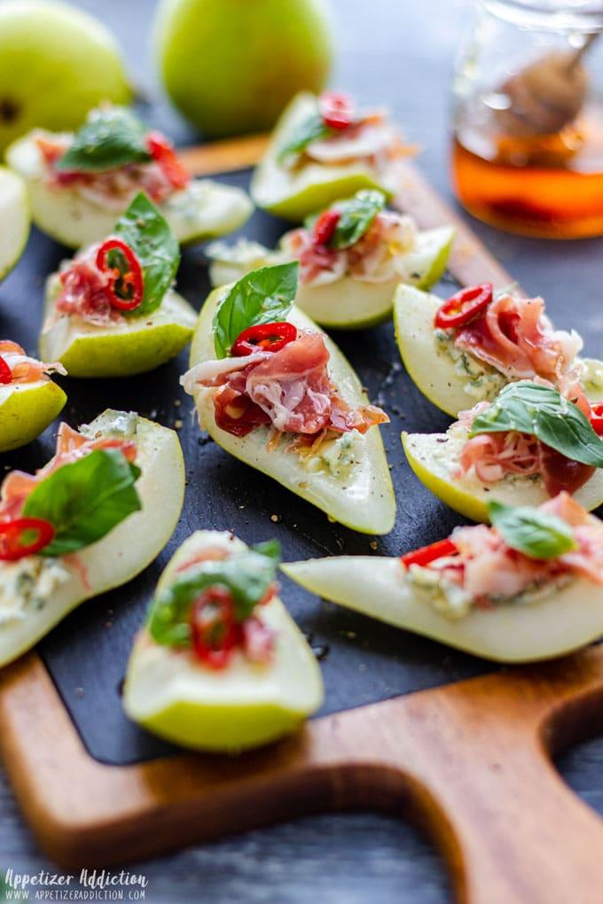 Pear Prosciutto Appetizer