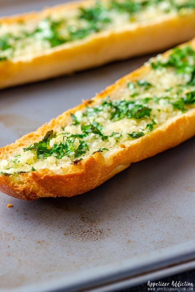 Baked Garlic Bread