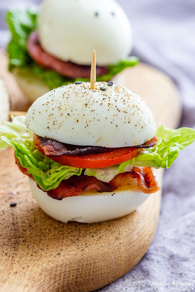 Deviled Egg Sliders