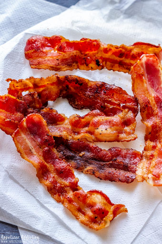 Fried Bacon Slices