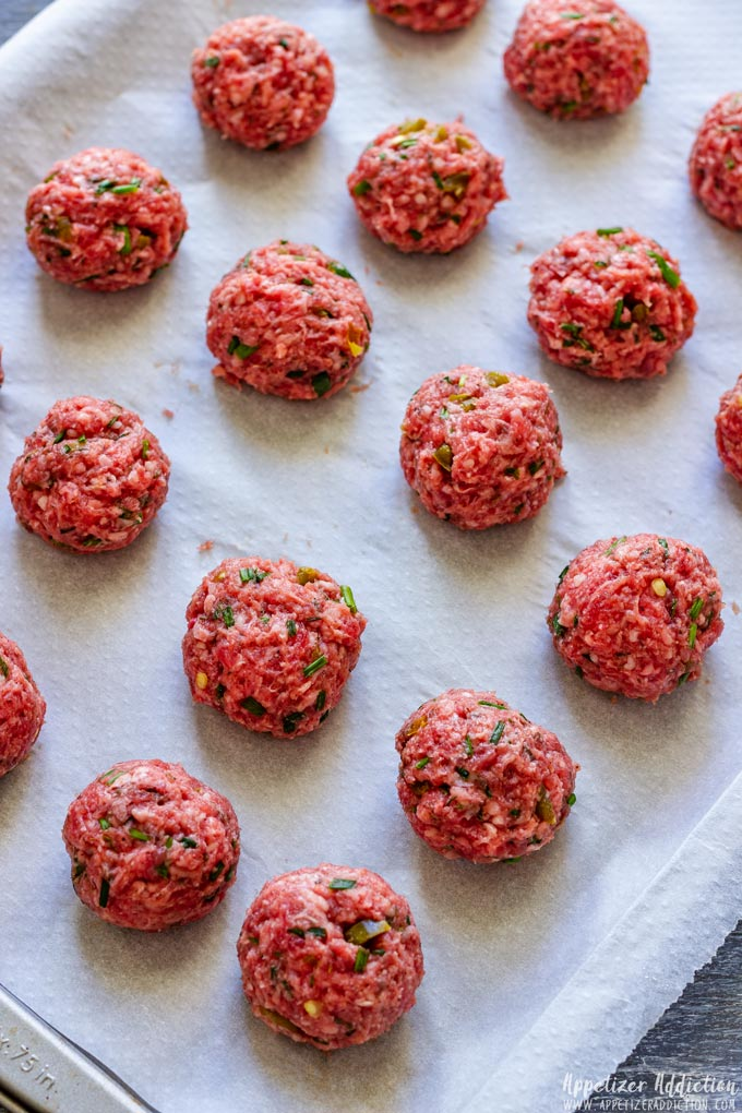 How to make Meatballs Step 2