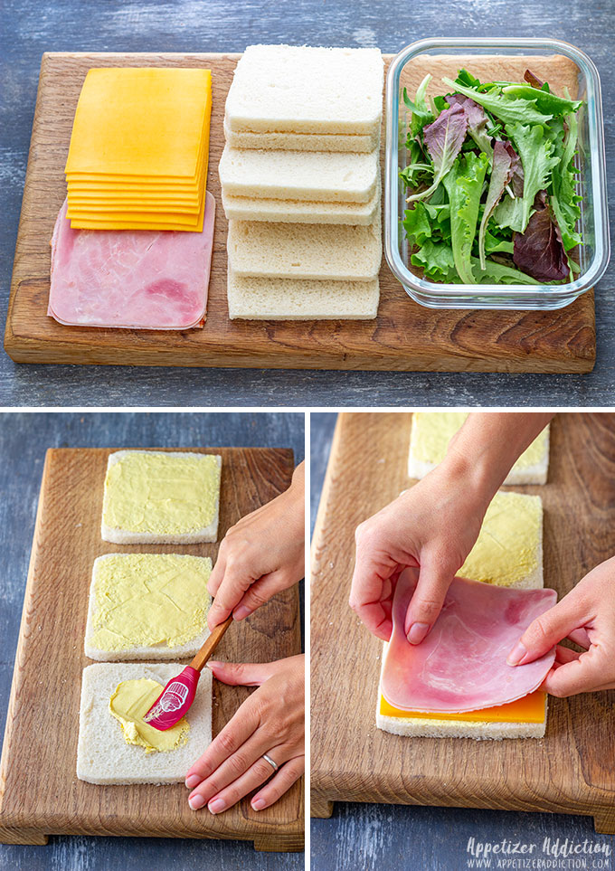 How to make Mini Sandwiches for Party
