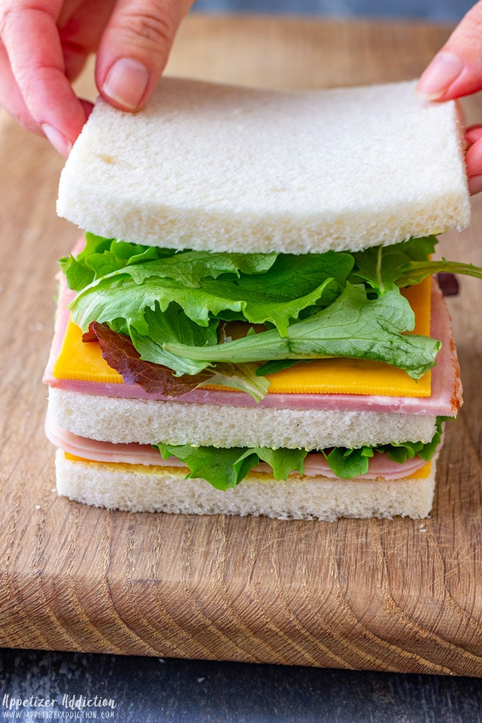 How to Assemble Mini Sandwiches