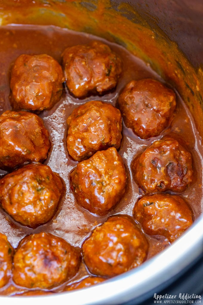 Instant Pot Cocktail Meatballs with Sauce