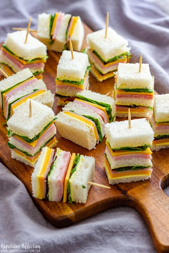 Mini Sandwiches For Party Appetizer Addiction