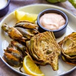 Air Fryer Artichokes Pin