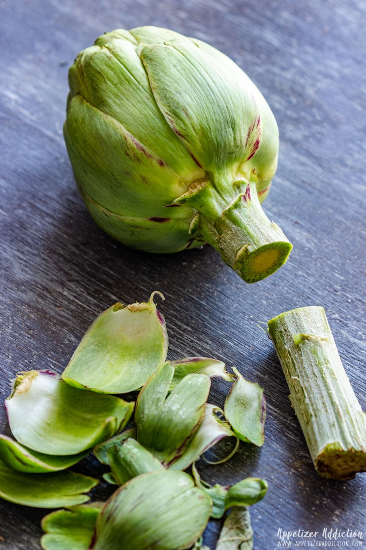 Cutting Artichokes