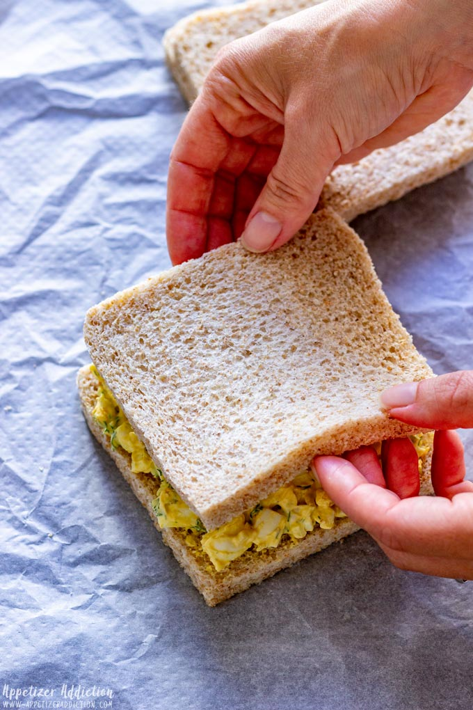 How to make Egg Salad Sandwiches Step 2