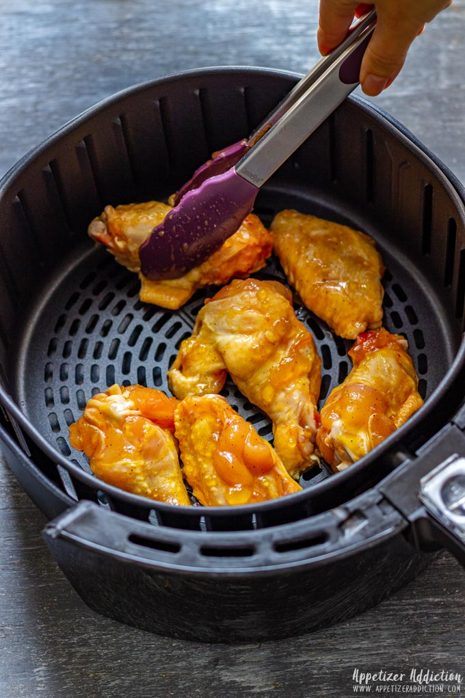 How to make Orange Chicken Wings Step 2 - Cooking the Wings